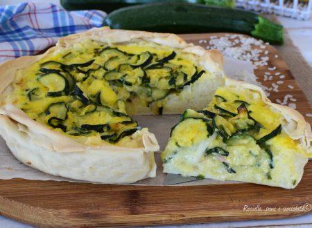 TORTA di Riso al Forno con Zucchine