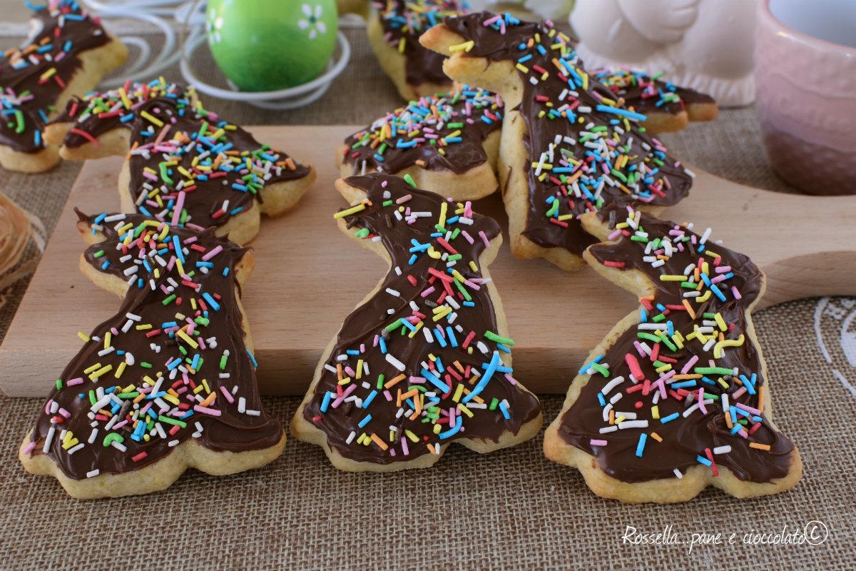 DOLCI Biscotti di PASQUA alla NUTELLA