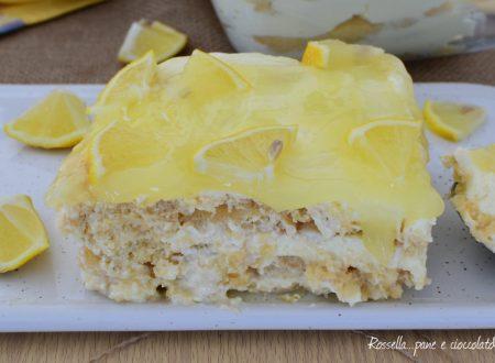 TIRAMISU Cheesecake al Limone