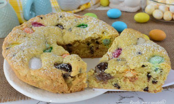 TORTA di Pasqua con Ovetti nell Imapasto