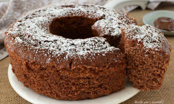 Torta CIAMBELLA ricotta e nutella