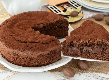 Torta NUTELLA al Cioccolato Riciclato