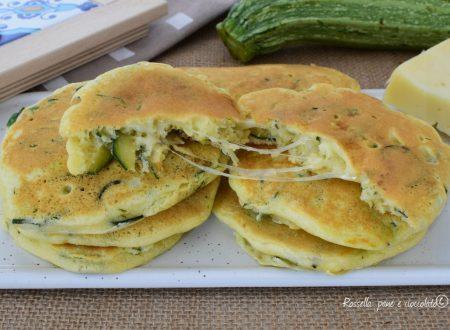ANTIPASTO di Pancakes alle ZUCCHINE