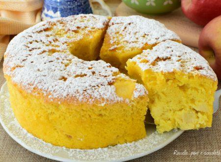 TORTA Ciambellone alle Mele e Limone