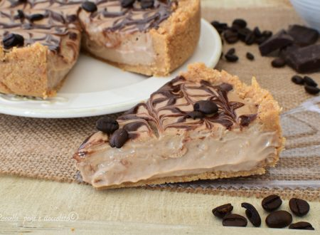 Torta CROSTATA senza Cottura Ripiena al CAFFE