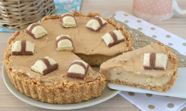 Torta Crostata DOLCE CHEESECAKE ai Kinder Bueno