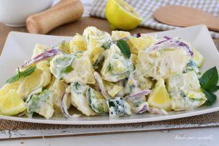 INSALATA ZUCCHINE Patate Limone e Menta