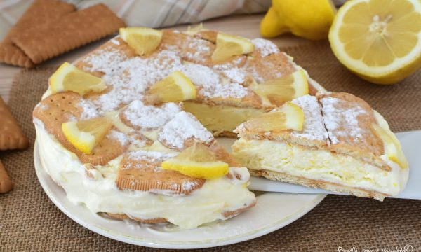 Torta DOLCE CHEESECAKE Yogurt e Limone