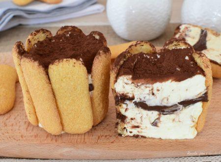 Dolce TIRAMISU' Nutella e Pavesini monoporzione
