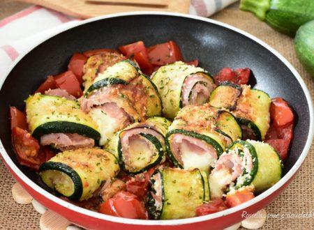 Involtini in PADELLA di Zucchine