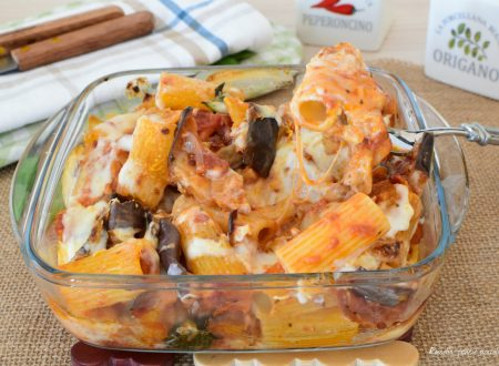 PASTA e MELANZANE con Mozzarella