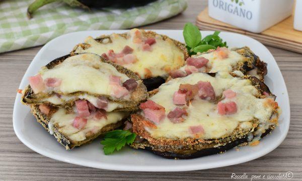 Impanata di Melanzane Ripiene di Mozzarella