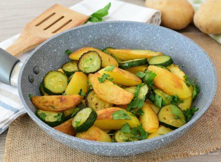 PADELLA di Zucchine e Patate Croccanti
