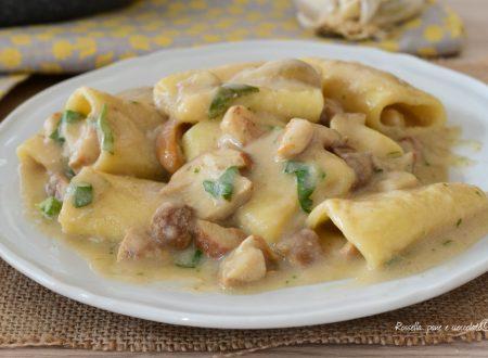 Pasta Crema di Patate e Funghi porcini