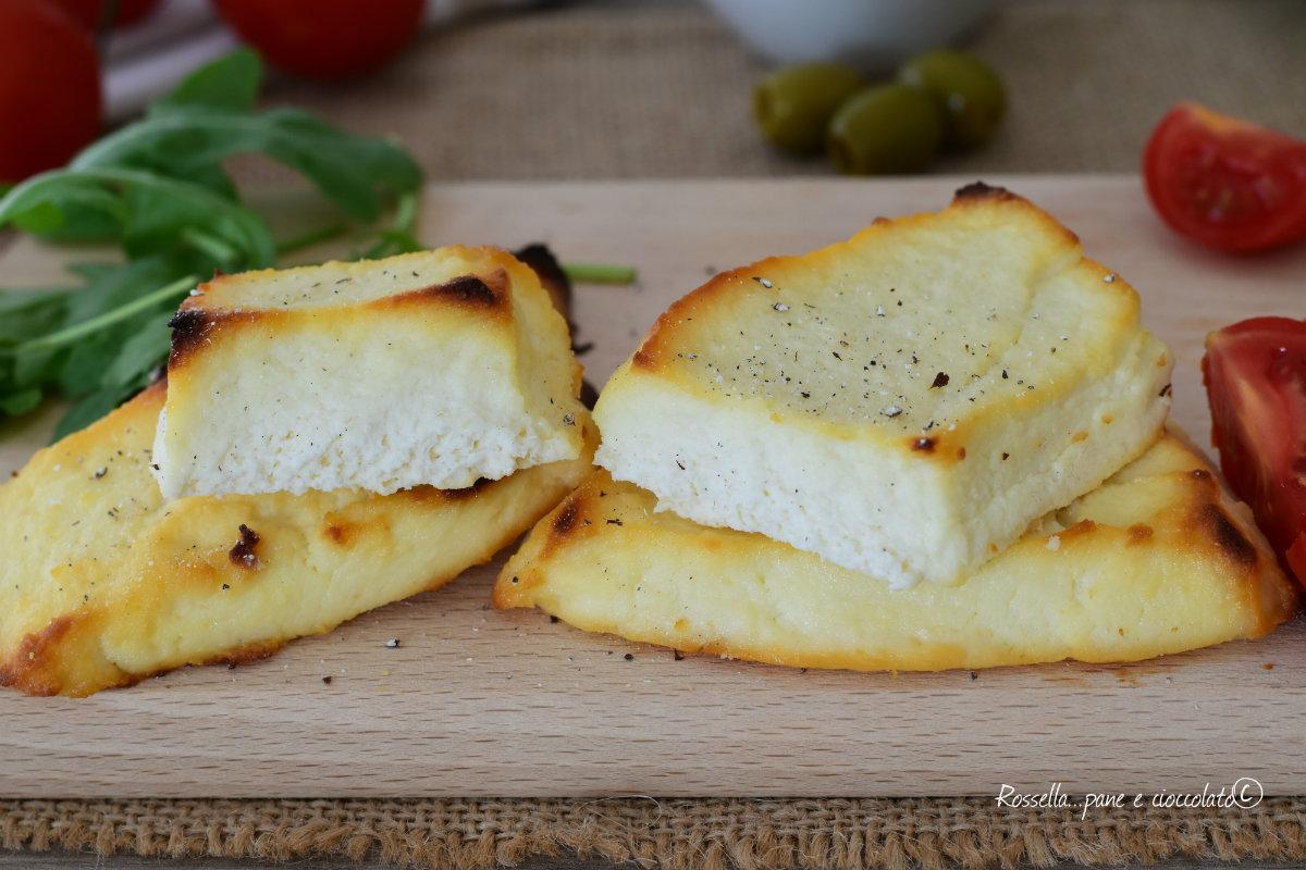 RICOTTA al Forno con Pomodori