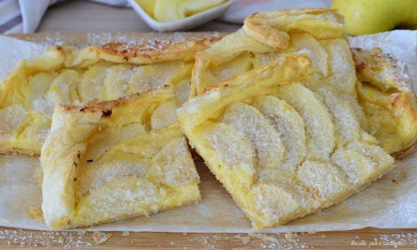 TORTA di MELE Tiramisu Dolce con Pasta Sfoglia