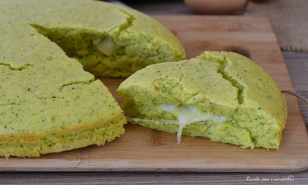 Torta di Zucchine alla Ricotta Salata con Mozzarella