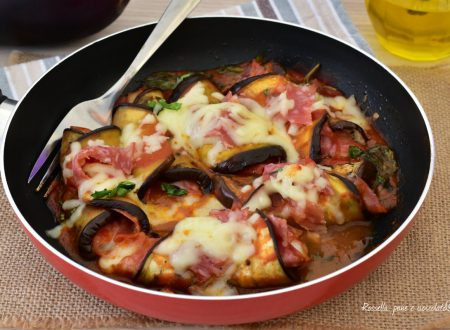Melanzane Ripiene Mozzarella e Salame