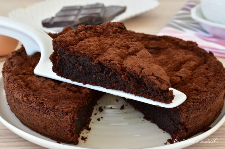 Torta Ricotta e Nutella Cuore cremoso