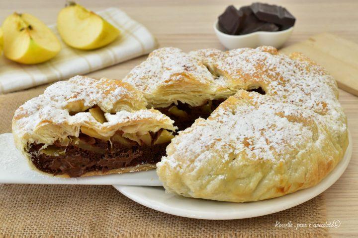 Torta di Mele e Biscotti al Cioccolato