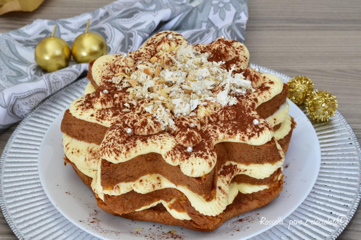 Ricetta Tiramisu Con Pandoro Giallo Zafferano.Tiramisu Di Pandoro Dolce Dessert Delle Feste Ripieno