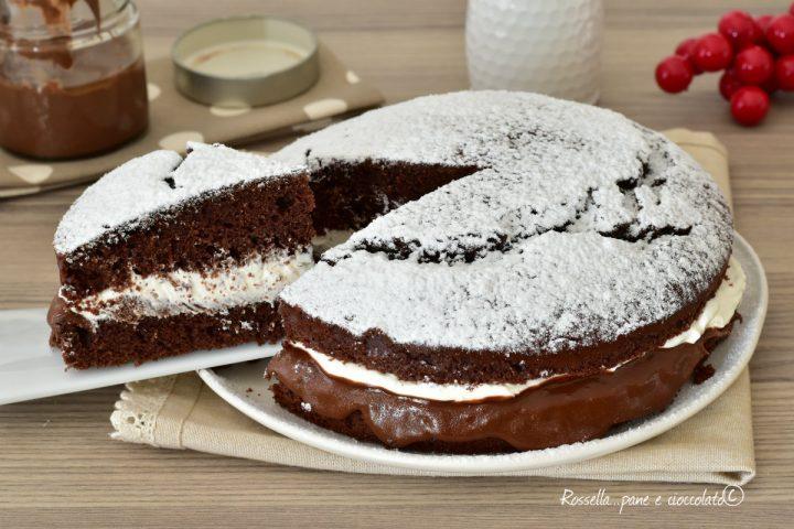 Torta Nutella e Yogurt