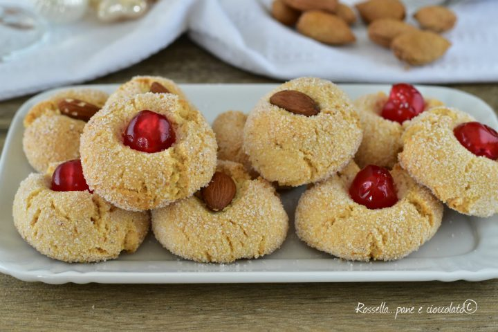DOLCI alle Mandorle Ricetta Biscotti senza Farina morbidi