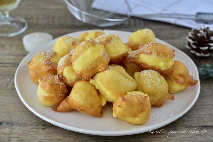 Frittelle con Ripieno alla Crema