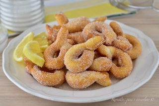 Frittelle RICOTTA e Limone Impasto al Cucchiaio veloci