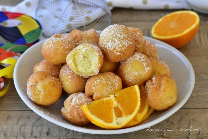castagnole soffici dolci con ricotta dolci di carnevale ricetta delle castagnole limone e arancia
