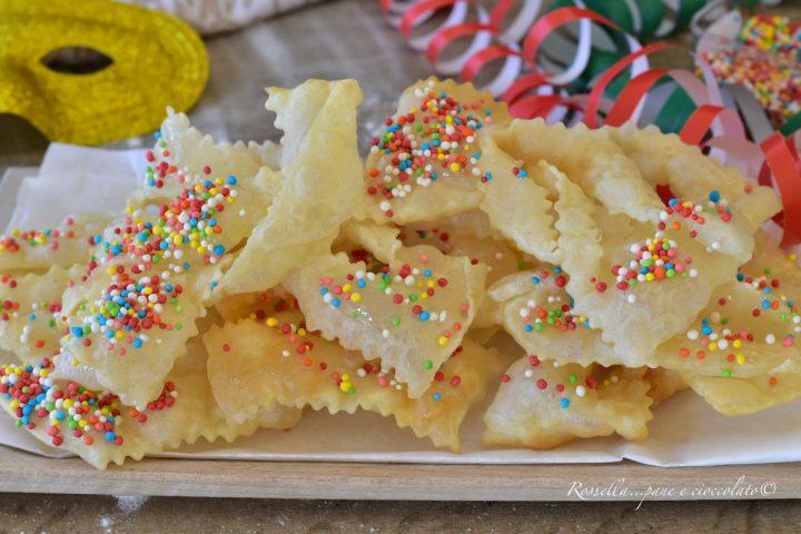 chiacchiere con ricetta della nonna dolci di carnevale ricetta friabile