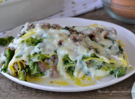 Lasagne Salsiccia e Broccoli RICETTA primo piatto