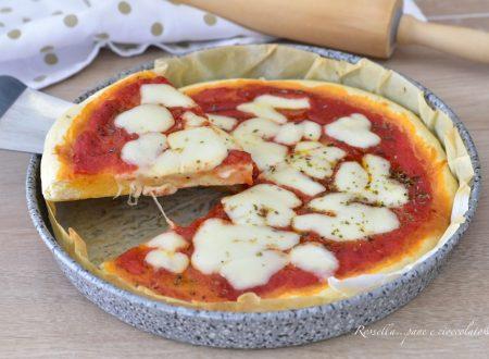 PIZZA in Teglia morbida Ricetta senza Lievitazione