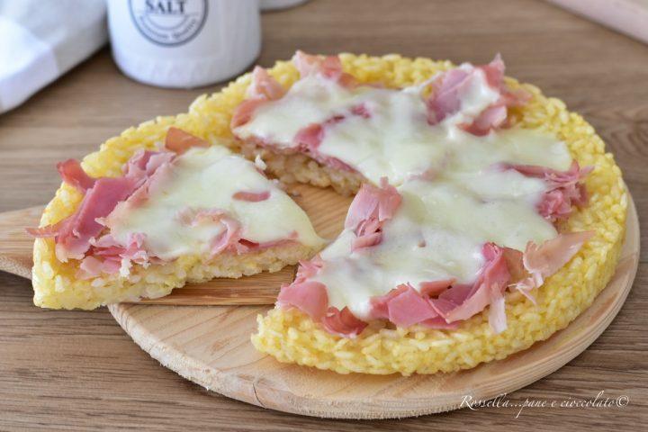 crostata di riso prosciutto cotto ricetta facile secondo piatto mozzarella