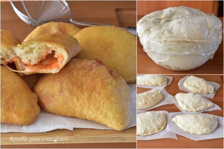 impasto per panzerotti ricetta lievitata pomodoro e mozzarella tipici pugliesi
