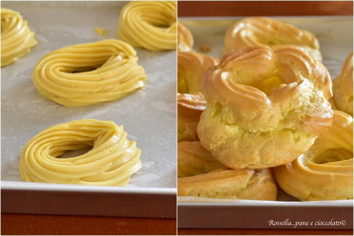 impasto per zeppole ricetta infallibile zeppole al forno dolci ripieni pasticcini