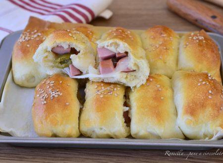 Panini di Focaccia Olive e Prosciutto Cotto RICETTA Antipasto