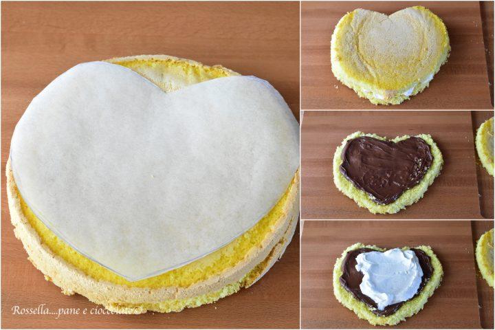 torta a forma di cuore S Valentino ricetta torta dolce