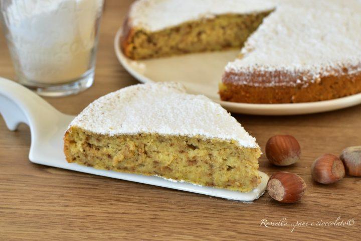torta di nocciole ricotta dolce ricetta