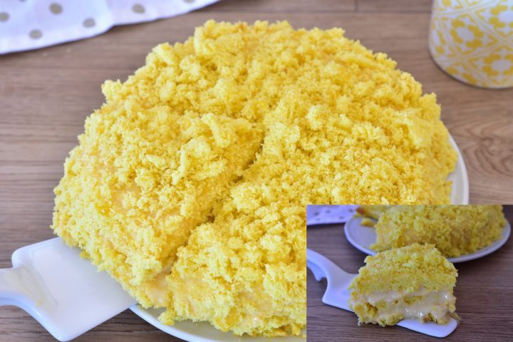 torta mimosa ricetta beneventana dolce ricetta