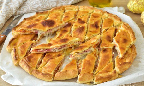 ANTIPASTO di Pasqua di Pasta Brisee RICETTA Ripiena