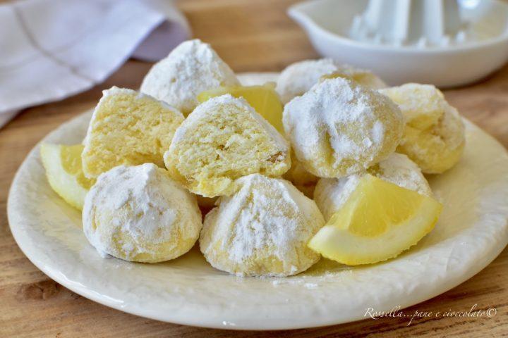 BISCOTTI di Riso al Limone Ricetta DOLCI veloci