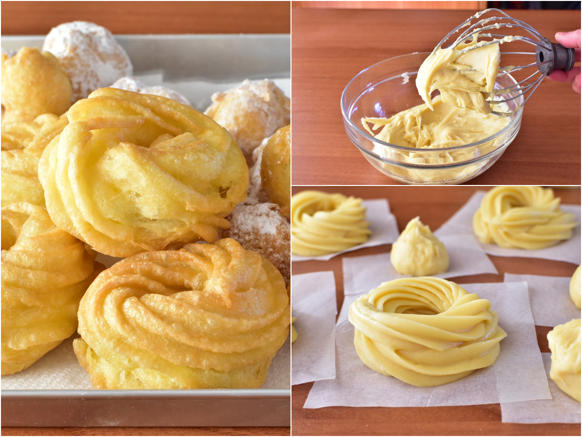 Ricetta Zeppole E Bigne.Impasto Per Bigne E Zeppole Ricetta Dolce Pasta Choux