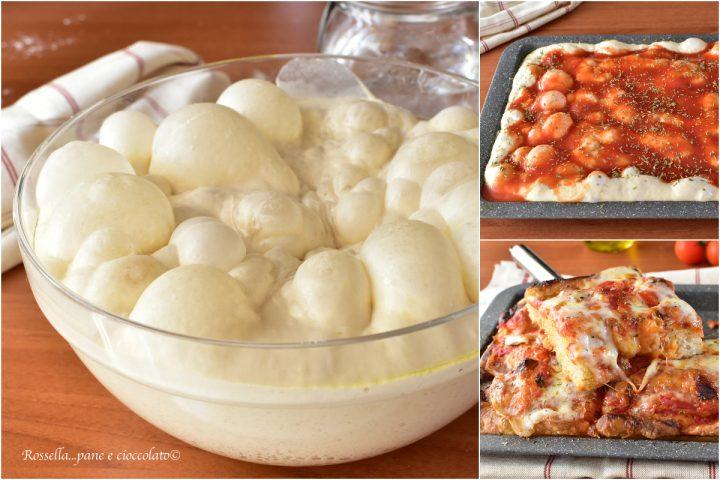 Impasto per PIZZA e Focaccia Ricetta fatta in casa leggerissima