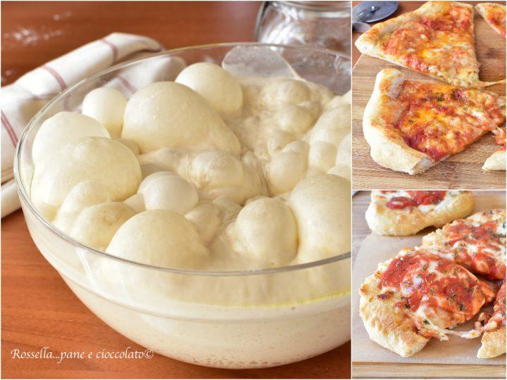 Ricetta Impasto Pizza Toscana.Impasto Per Pizza Ricetta Pizzeria Cotta Nel Forno Di Casa