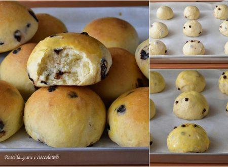 PANINI DOLCI con Gocce di Cioccolato Ricetta Fatta in Casa