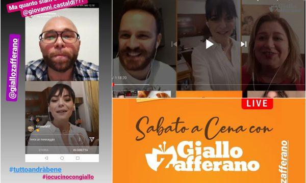 Io Cucino con GialloZafferano – La Social Dinner per tenervi compagnia!