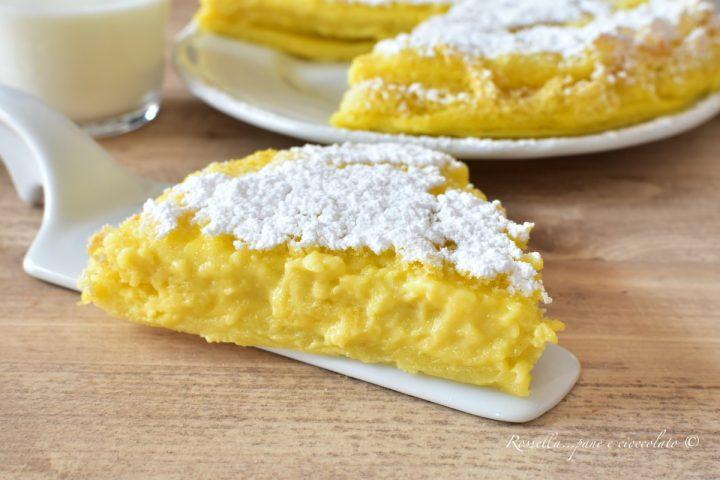 TORTA al Latte Senza LIEVITO Ricetta DOLCE Cremosa