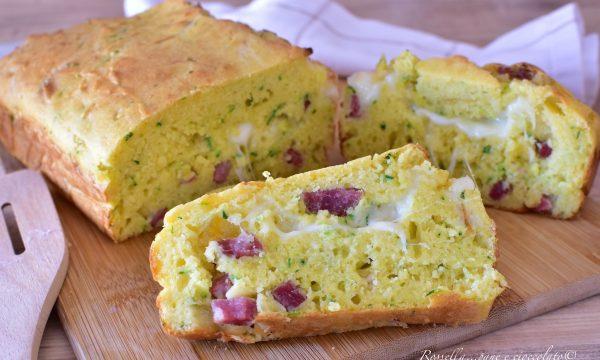 PLUMCAKE alle Zucchine e Ricotta Ricetta Salata facile