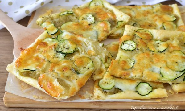SFOGLIA Patate e Zucchine Ricetta ANTIPASTO o Piatto completo